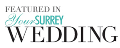 Your surrey wedding 'featured in' logo