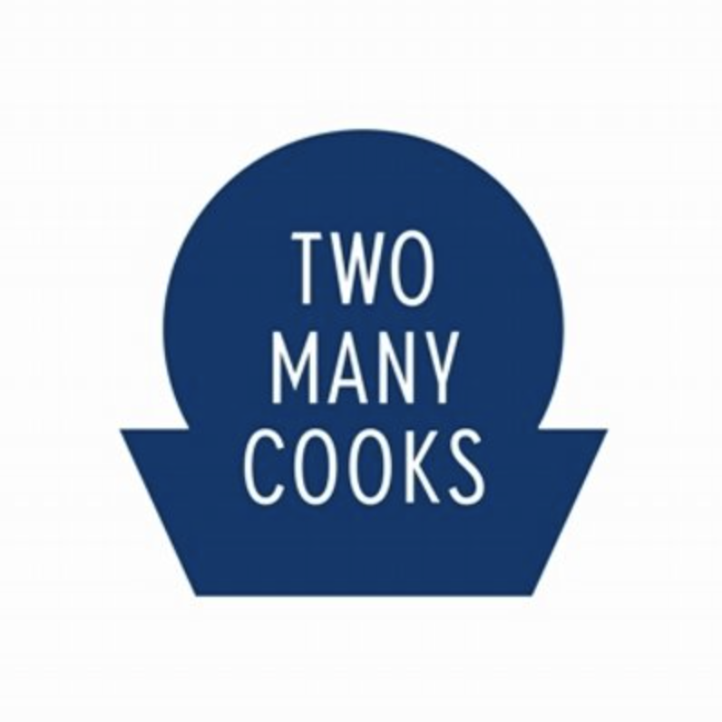 Two Many Cooks catering logo
