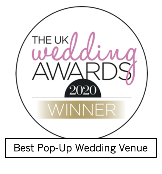 The UK wedding awards and hitched.co.uk winner logo